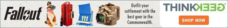 ThinkGeek - The best place for Fallout 4 gear!