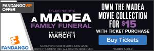 300x100 Fandango Offer: A Madea Family Funeral
