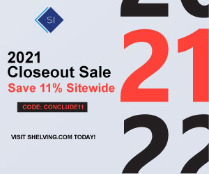 300x250 Industrial Shelving Solutions Coupon - Ends June 21st