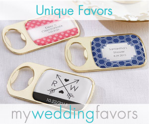 Unique Wedding Favors
