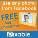 New users get a FREE 22 page photobook w/ Pixable!