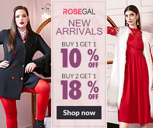 ROSEGAL New Arrivals, Up to 18% Off!