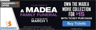 320x100 Fandango Offer: A Madea Family Funeral
