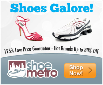 Shoes up to 80% Off + 125% Low Price Guarantee