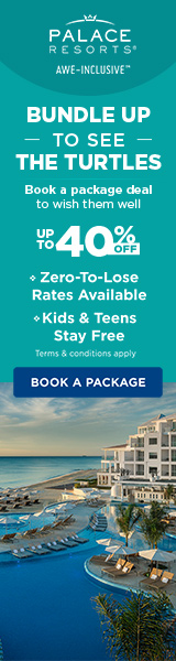 Winter Bundle. Add flights to our 2 for 1 deal to enjoy at Palace Resorts.