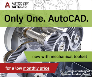 Only One. AutoCAD.