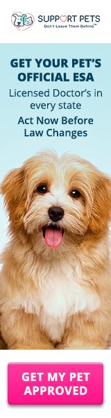 160x600 Get Your Pet's Official ESA!