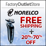 Free Shipping on Norelco Products - FactoryOutletStore.com