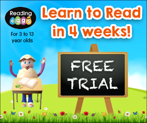 FREE Reading Eggs Trial...
