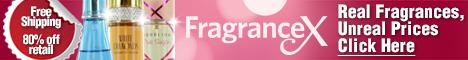 FragranceX.com Large Banner