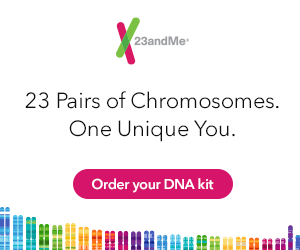 23 Pairs of Chromosomes. One Unique You. Order your DNA Kit from 23 and Me.