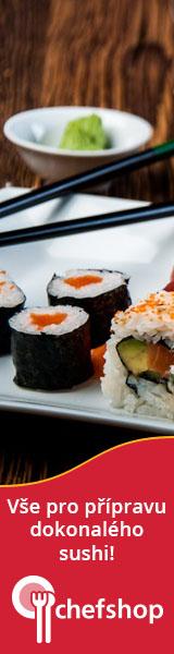 Vše na sushi na Chefshop.cz