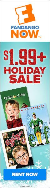 FandangoNOW - Holiday Rental Sale Starting at $1.99