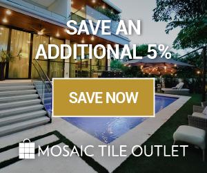 5% off your entire order - MosaicTileOutlet.com