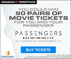 Fandango - Passengers Sweepstakes