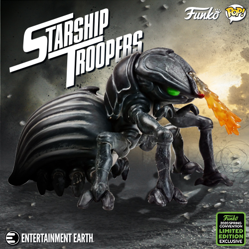 Starship Troopers Tanker Bug 6-Inch Deluxe Pop! Vinyl Figure - 2020 Convention Exclusive