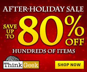 80% off Hundreds of Items
