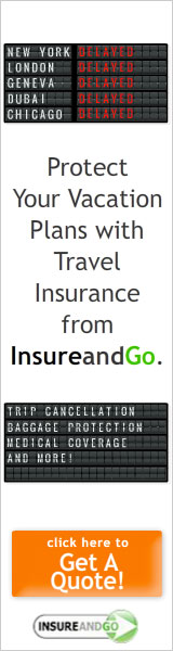 Banner describing general advantages of InsureandGo Travel Insurance.