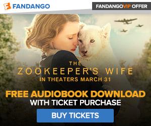 Fandango - The Zookeeper's Wife GWP