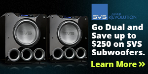 SVS Home Audio Speakers & Subwoofers