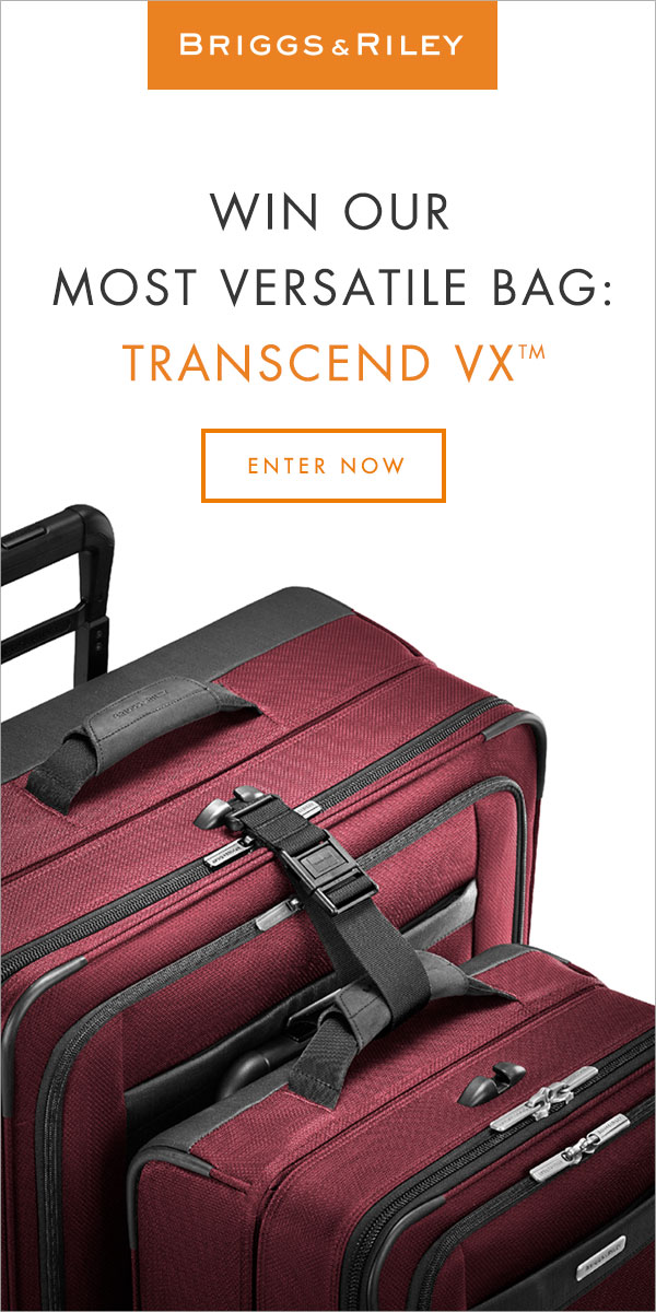 Briggs & Riley Transcend Carry-On Giveaway