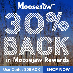 Get 30% Back in Moosejaw Reward Dollars with code 30BACK. Ends 10/27.