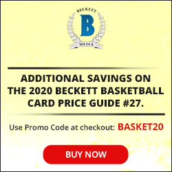 20% on Basketball Card Price Guide #27 250*250