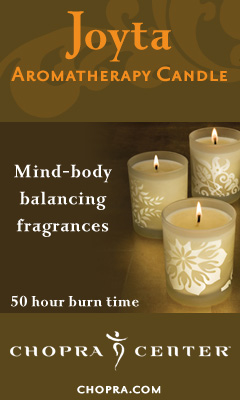 Chopra Aromatherapy Candles