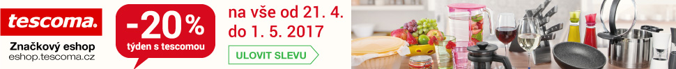 Týden s Tescomou - sleva 20% na veškeré neakční zboží od 13. do 22.1.2017