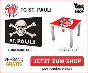 St.Pauli Leinwandbilder