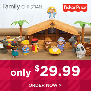 20% Off Little People Nativity makes for a great gift!
