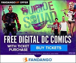 Fandango - Suicide Squad Comic Bundle GWP