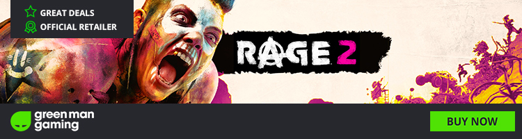 PC GAMES : RAGE 2 Microsoft Windows, PlayStation 4 and Xbox One
