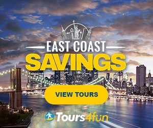 US East Coast Tours - Up to 22% off through 3/3 only at Tours4Fun.com!