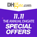 DHgate Wholesale 11.11 Special Offers, up to 50% off and extra coupons