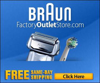 FREE Shipping on Braun Shavers, Toothbru