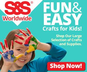 S&S Kids Crafts 300x250