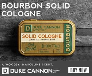 Bourbon Solid Cologne 300x250