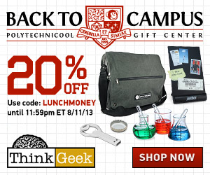 ThinkGeek: Back to Campus - 20...