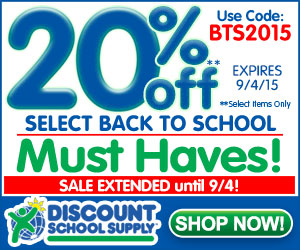 SAVE 20% OFF BACK TO SCHOOL MUST HAVES & Get Free Shipping On Orders Over $79