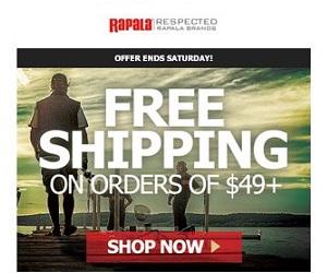 Rapala Free Shipping 300x250