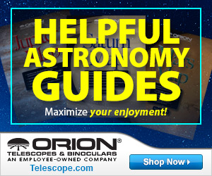Orion Helpful Astronomical Guides