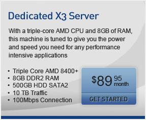 Dedicated X3 Promo Server