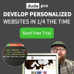 DudaPro - Develop Personalized Websites Fast