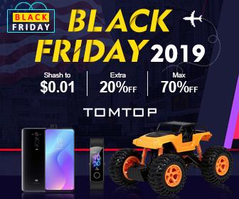 Black Friday 2019, Max 70% Off Discount