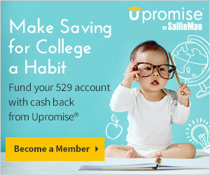 Make saving for college a habit with automatically rolling Upromise cash back into your 529.