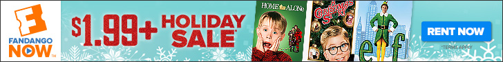 FandangoNOW - Holiday Rental Sale Starting at $1.99