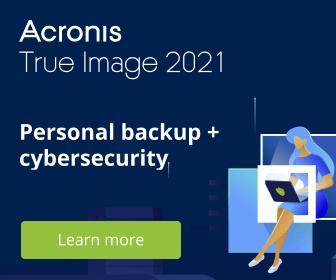 Image for EN Acronis True Image 2021 - Backup + Cybersecurity