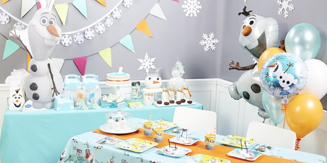 Olaf Birthday Party Supplies