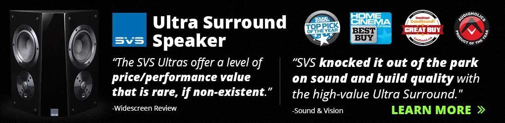 Ultra surround sound speakers